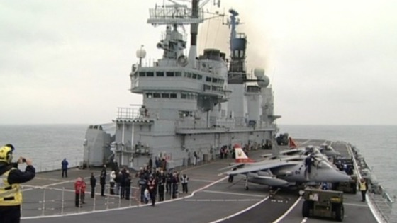 Farewell to Ark Royal