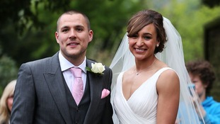 Jessica Ennis and Andy Hill