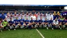 Celebs take part in Harry Moseley football match