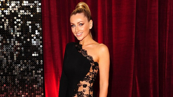 Hollyoaks' Gemma Merna walks the red carpet.
