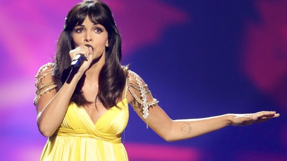 El Sueno de Morfeo (ESDM) representing Spain performing during theEurovision Song Contest 2013 final.