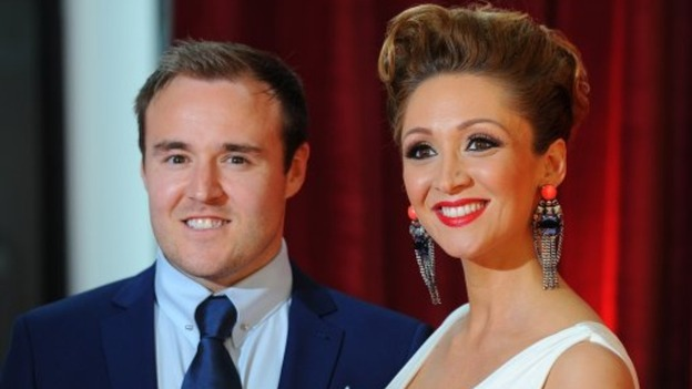 Coronation Street star Alan Halsall and his wife Lucy Jo Hudson
