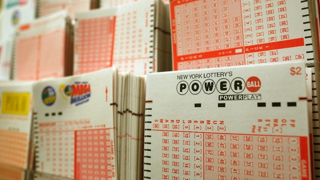 Tickets for the Powerball lottery 