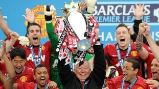 Sir Alex Ferguson oversaw yet another league triumph for Man Utd