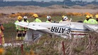 Two hospitalised as light aircraft crashes in Gwynedd