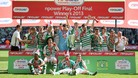 Yeovil Town promoted to the Championship