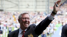 Sir Alex waves goodbye on football season&#x27;s final day
