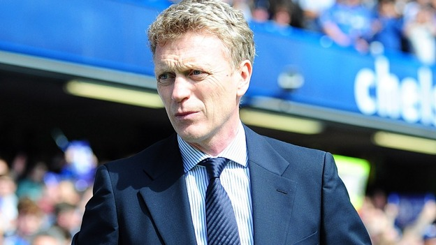 Everton manager David Moyes.