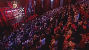 The British Soap Awards audience gave Bill Tarmey a standing ovation.