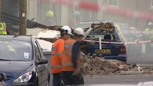 One dead and another trapped after gas explosion