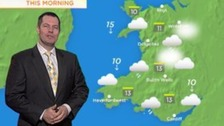 Weather: Brightening up by the afternoon