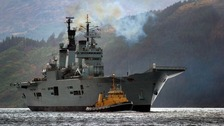 HMS Ark Royal sent for scrap