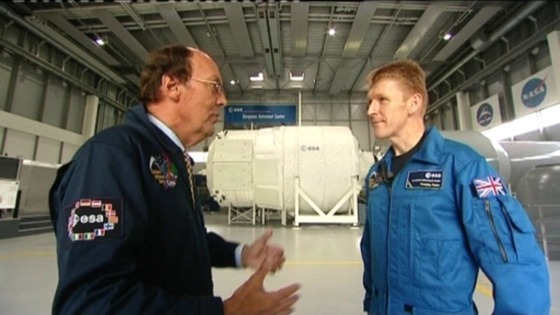 Fred spoke to Major Tim Peake in 2010