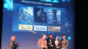 Ray Lehky won the 'Production Craft Award' for his technical excellence