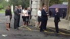 Prince William and Prince Harry in Tidworth