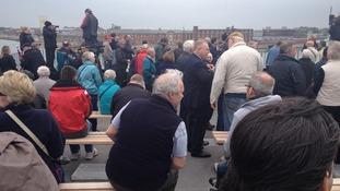 Crowds on Round Tower