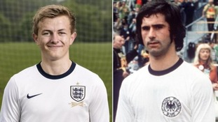 Going German? England reveal new home shirt