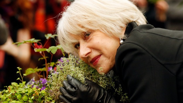 Dame Helen Mirren attends the RHS Chelsea Flower Show. Credit: PA - image_update_91a9a1c7019ef702_1369056955_9j-4aaqsk
