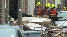 Properties demolished after Newark blast