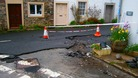 Clean up begins after flash floods hit Cumbria