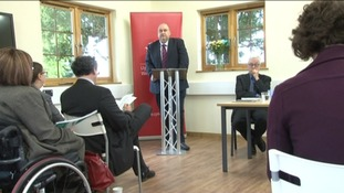 Housing Minister Carl Sargeant