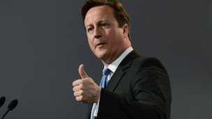 Cameron urges unity in personal letter to Conservatives