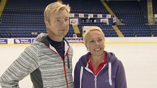 Torvill and Dean.