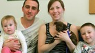 Family rescue Battersea's 1000th dog