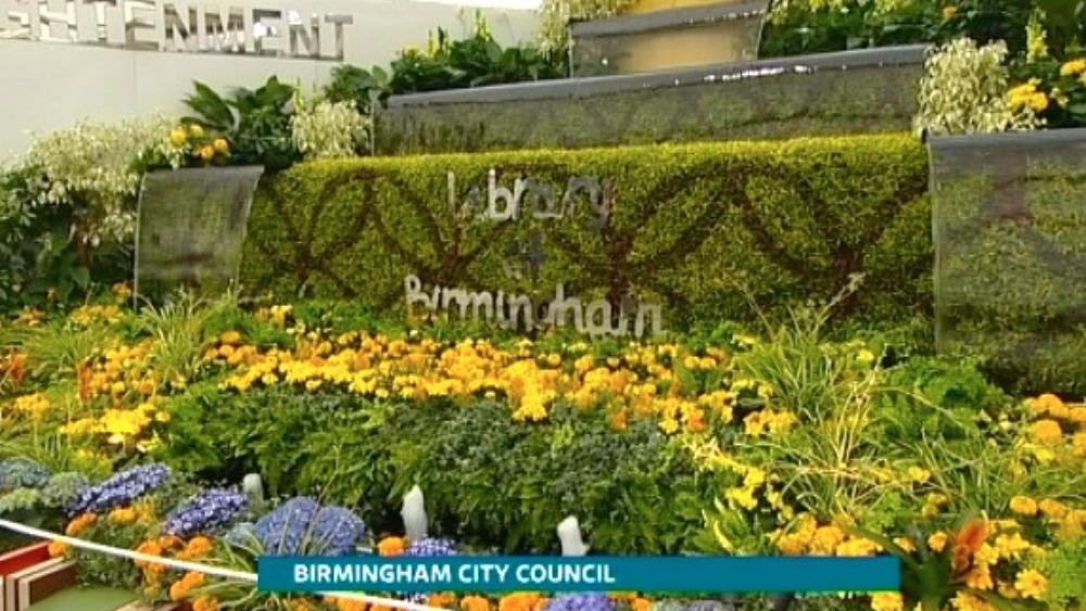 Midlands Chelsea Flower Show Winners Central Itv News