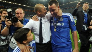 Roberto Di Matteo helped win Chelsea's first ever Champions League trophy