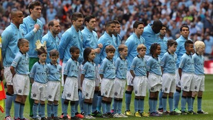 Manchester City announced the new team on its website today