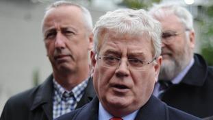 Irish deputy prime minister Eamon Gilmore