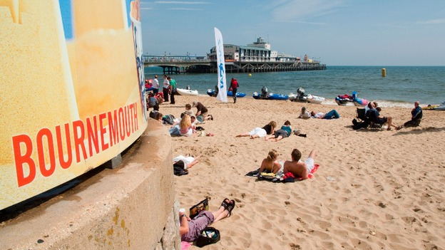 Bournemouth beach received four Blue Flags this year.
