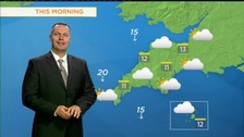 Wednesday's forecast: Cloudy but brightening later