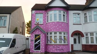 "The ""Mr Blobby"" house in Southend"