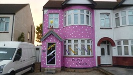 "The ""Mr Blobby"" house"