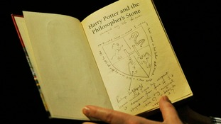 The Harry Potter book went under the hammer at Sotheby's