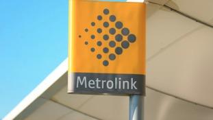 Metrolink sign
