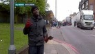 Exclusive video: Man with bloody hands at Woolwich scene