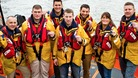 The courage of seven RNLI volunteers is recognised
