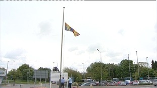 Flag raised at hospital