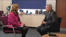 Lynn Courtney interviews Alan Johnson MP