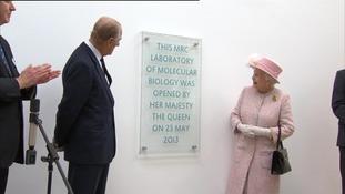 Queen opening building