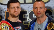 Froch apologises for threatening to 'kill' Kessler