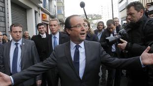 Francois Hollande French election
