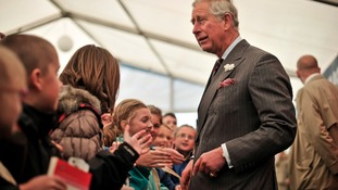 'Mid-air drama' for Prince Charles and Camilla ahead of Hay Festival visit