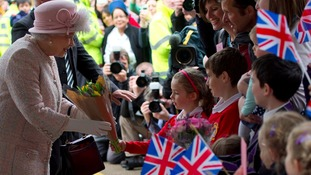 In pictures: The Queen's day in Cambridge