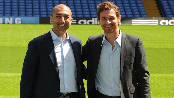 Andre Villas-Boas and Roberto Matteo