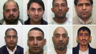 Top - L to R: Abdul Rauf, Hamid Safi, Mohammed Sajid, Abdul Aziz. Bottom - L to R: Abdul Qayyum, Adil Khan, Mohammed Amin, Kabeer Hassan.