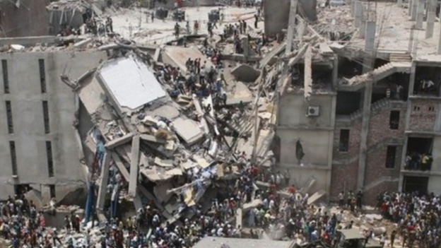 More than 1,100 people were killed after the eight-storey Rana Plaza factory building near Dhaka, Bangladesh collapsed.